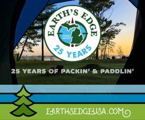 Earth's Edge Ad: 25 years of packin' & paddlin' earthsedgeusa.com
